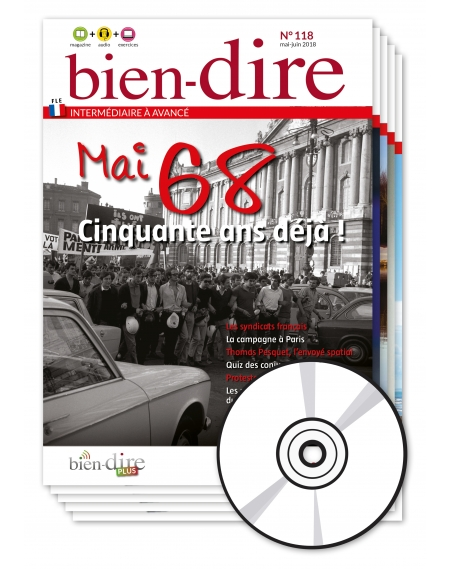 1 year : Bien-dire + audio CD