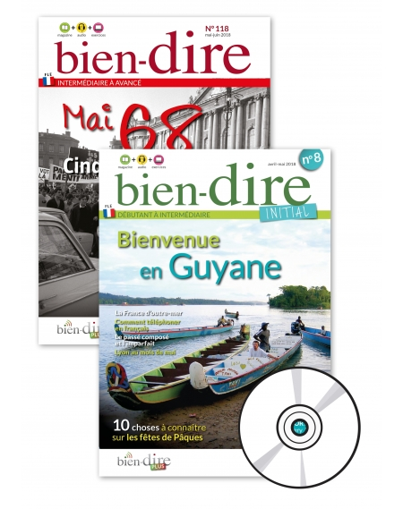 1 year : Bien-dire + Bien-dire Initial + audio CD