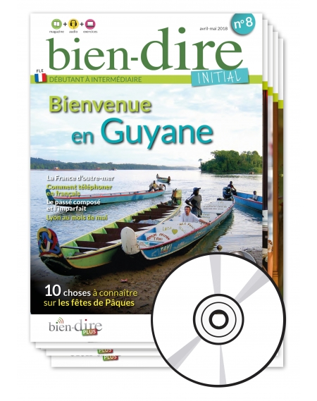 1 year  : Bien-dire Initial and audio CD