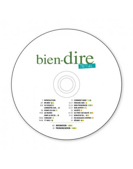 CD audio Bien-dire Initial