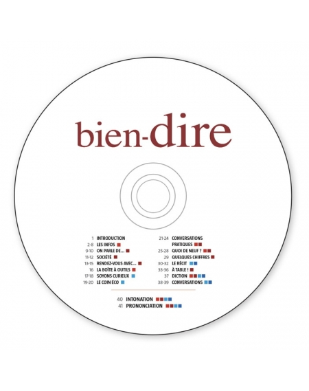 CD Audio Bien-Dire