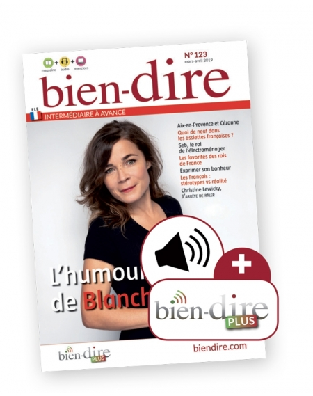 1 year : Bien-dire  and audio download and Bien-dire Plus
