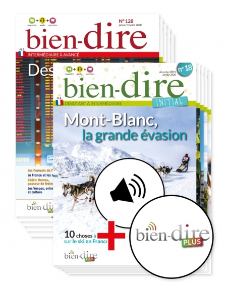 2 years : Bien dire + Bien-dire Initial + audio download