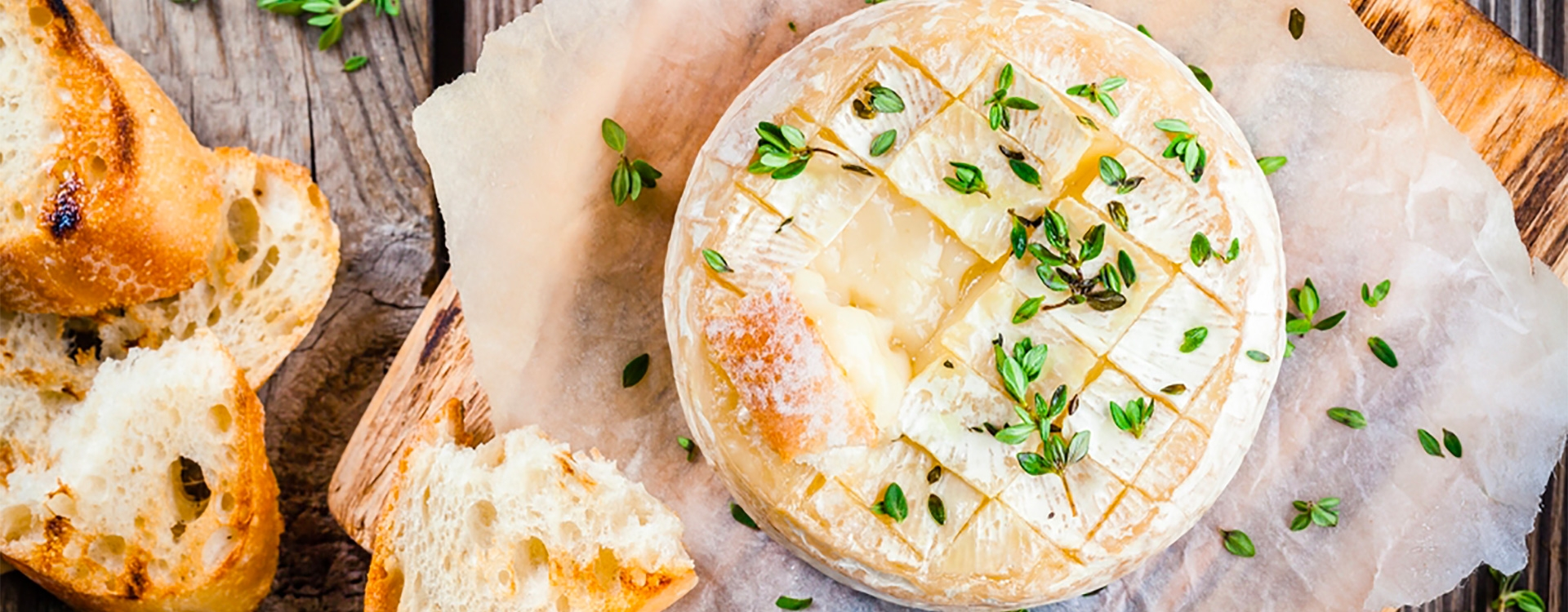 Camembert rôti au miel
