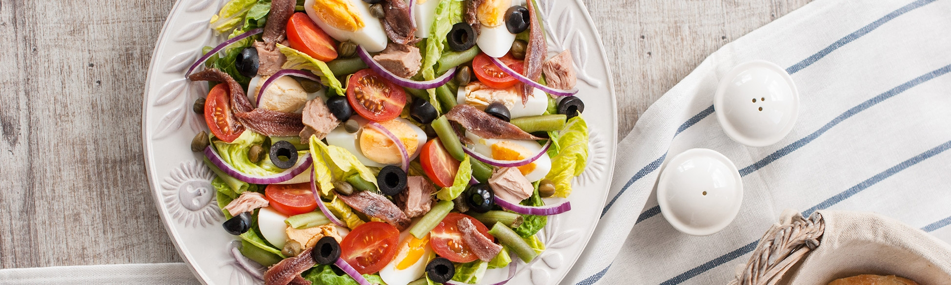 Recette de la salade niçoise