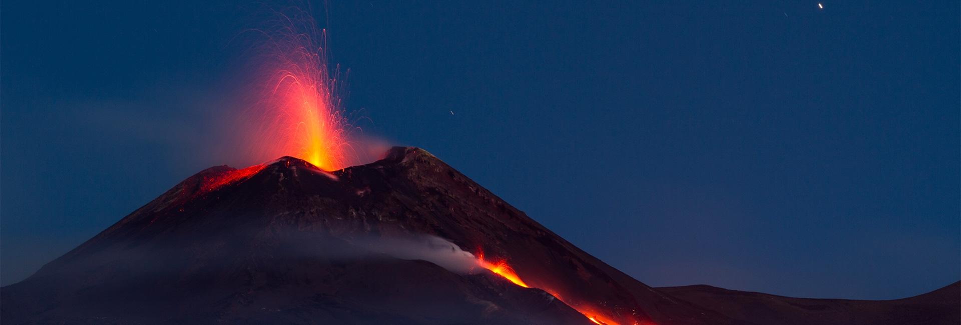 Le volcan le plus actif au monde