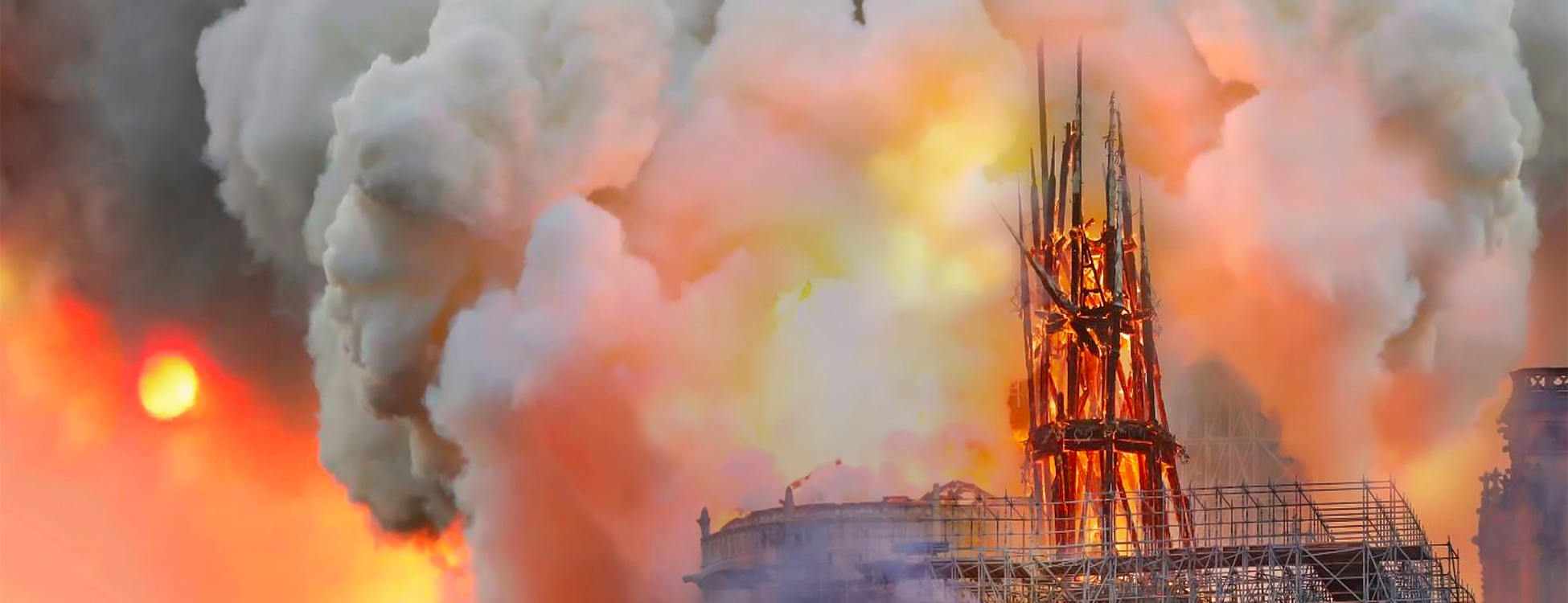 Pollution au plomb autour de Notre-Dame