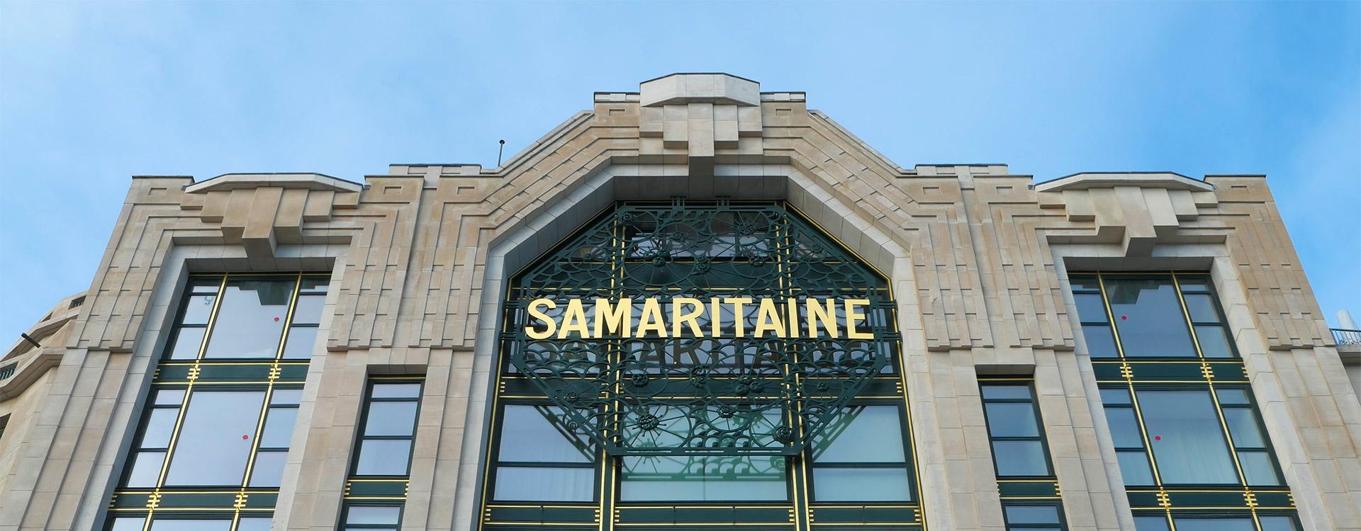 La Samaritaine rouvre ses portes (C1/C2)